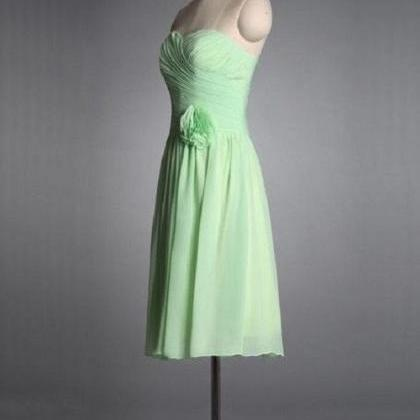 A-line Sweetheart Neck Strapless Sl..