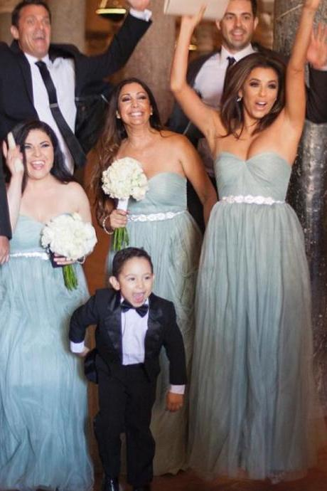 Grey Bridesmaid Dresses Long 2017 Sweetheart Weddings Party Dress A-Line Tulle Maid Of Honor Gowns Custom Made