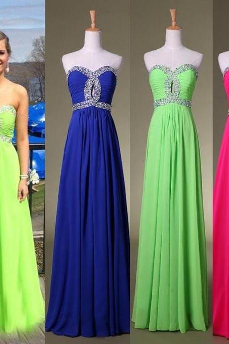 long prom dress,custom Prom Dress,sweetheart prom dress,Charming prom dress,evening dress
