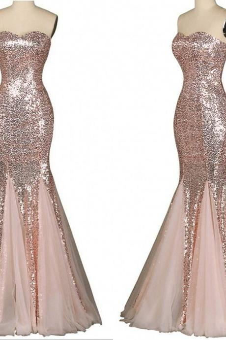 Long Prom Dresses,Charming Prom Dress,sequin Prom dress,mermaid prom Dress,prom Dress