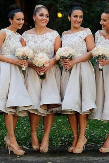 lace bridesmaid dress,short bridesmaid dress,Cheap bridesmaid dress,cute bridesmaid dress